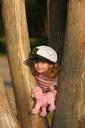 Маша в парке